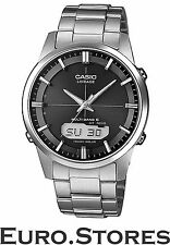 Casio Men's Watch Lineage Multi Band 6 Wave Ceptor Solar Titanium Genuine New