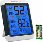 Digital Touchscreen Indoor Humidity Thermometer Temperature Hygrometer Monitor