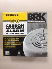 BRK ELECTRONICS CO250B 9V Battery Operated Electrochemical Carbon Monoxide Alarm