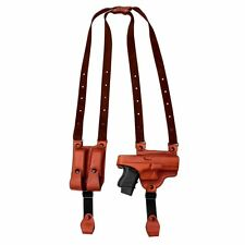 Tagua full slide shoulder holster S&W bodyguard .38 Left Hand Brown