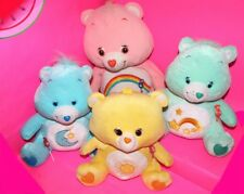 Lot 4 Jumbo CARE BEAR Plush Stuffed BEDTIME / WISH / FUNSHINE / CHEER Carebear
