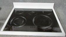 74011397 Amana Range Oven Main Top Glass Cooktop White