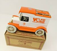 Ertl UT Tennessee Vols 1913 Ford Model T No. 5 Die-Cast Metal Coin Bank Vehicle