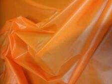 163cms wide bright orange  army parachute ripstop nylon material lining, arts,