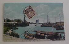 CHINA  DRAGON  STAMP 1911 TIENTSIN ON CARD