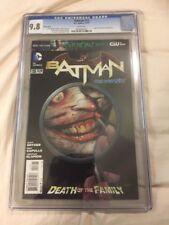 Batman 13 CGC 9.8 2012 Greg Capullo Joker Variant  Cover SICK!!!!