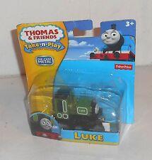 2012 Thomas the Tank Engine Take-n-play - LUKE - Brand New - MOC - MOSC