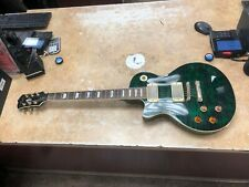 Agile 2500 Left Handed Single Cut LP Electric Guitar Green
