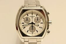 "SWISS SOLID STAINLESS STEEL MENS CHRONOGRAPH QUARTZ 42MM WATCH ""TISSOT"" Q662/762"