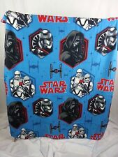 Star Wars Super Plush Fleece Travel Blanket Throw 50 x 40 Poly