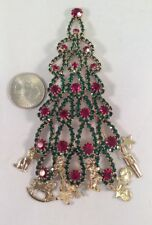 Kirks Folly NWOT Limited Addition Christmas Tree Pin Brooch Large Toy Land
