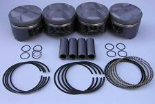 JDM NIPPON RACING P30 B16A B20 VTEC FLOATING PISTON SET SIR II NPR 84mm Hot NEW