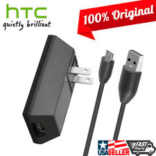 OEM Original HTC Home Travel Wall Charger Micro USB Data Cable for HTC ONE M7 M8