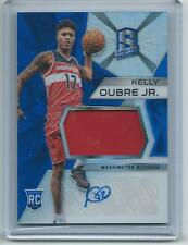 2015-16 Panini Spectra BKB #118 Kelly Oubre Jr. Wizards ROOKIE PATCH AUTO !!