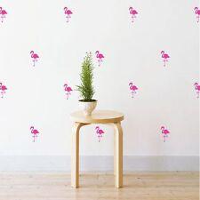 NEW Little Sticker Boy Mini Flamingos Wall Decal