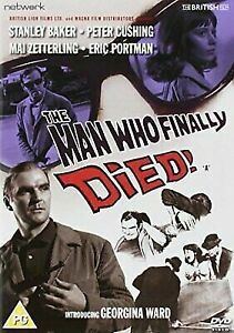 The Man Who Finally Died DVD 1962 Stanley Baker, Peter Cushing Movie B&W
