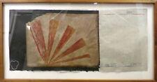 Scott Sandell (Water) At 12000 Feet mixed media SN leaf Artwork Abstract Art OBO