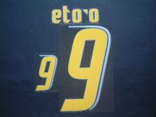 ETO'O NOME+NUMERO UFFICIALE CAMERUN HOME FIFA WC 2006 NAMESET