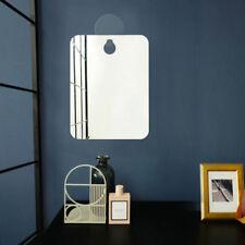 Anti-Fog Shower Mirror Hanging Fogless Makeup Shaving Bathroom Cosmetics Mirrors