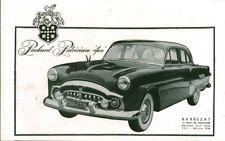 Publicité ancienne voiture Packard Patrician 400 - 1951 issue de magazine