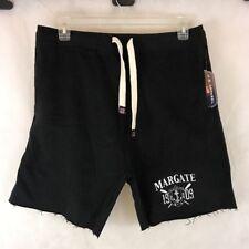 US Apparel Sweat Shorts Black Size M - Margate New Jersey Beach - NEW