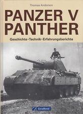 Anderson: Panzer V Panther, Geschichte/Technik/Erfahrungen Modellbau/Handbuch