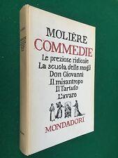 MOLIERE - COMMEDIE , Ed.Fuori commercio Mondadori (1960) Libro Cop.Rigida