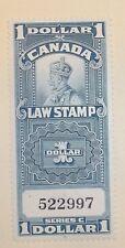 Canada Stamp FSC 18 MNH Law Stamp Cat $45.00