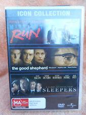 MIDNIGHT RUN/THE GOOD SHEPHERD/SLEEPERS (3 X DISC BOXSET)DVD MA R4