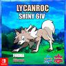 Lycanroc Forma Diurna ultra shiny 6 IV Pokémon Sword and Shield isla armadura