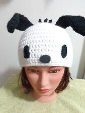 Pochacco Dog hat crochet knit cosplay comic anime character japanese Handmade