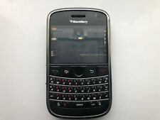 BlackBerry Bold 9000 Housing Front Fascia Middle Chassis Battery Cover Black
