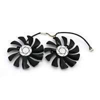 Cooling Fans Radiator Cooler Kit for Inno3D GTX1060 Black Gold Ares Graphic Card