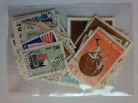 50 Romania stamps - mixed years - All different - USED