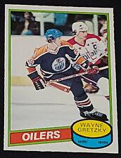 1980-1981 - O-PEE-CHEE /OPC - WAYNE GRETZKY - EDMONTON OILERS - HOCKEY CARD #250