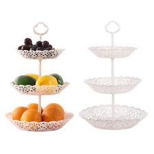 3 Tier Cupcake Stand Food Cake Dessert Fruit Holder Serving Platter Display New