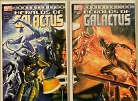 Herald of galactus set:#1+2 6.0 FN (2007)