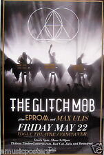 THE GLITCH MOB /EPROM/MAXULIS 2015 VANCOUVER CONCERT TOUR POSTER-Glitch,Synthpop
