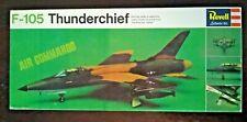 1966 Revell Air Commando F-105 Thunderchief Scale Model Kit H-231