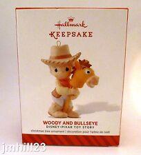 2014 Hallmark - Woody and Bullseye Precious Moments - Disney Pixar Toy Story NEW