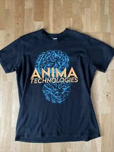 Thom Yorke From Radiohead Official W.A.S.T.E Anima Technologies T-Shirt Size M