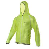 ROCKBROS Biking Cycling Jersey Wind Coat Rain Coat Windproof Bike Jacket Green