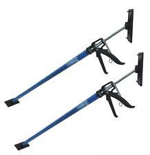 Baumarktplus 2 X Einhandstütze Montagestütze Deckenstütze Teleskopstütze stütze bis 290cm