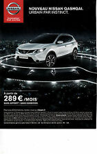 Advertising / Publicité de presse / voiture / NISSAN QASHQAI  . 2007