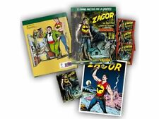 ZAGOR Album Cartonato LIMITED EDITION + 3 bustine + MAXI CARD - BLISTERATO