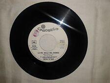 "Nicola Di Bari / Frankie Avalon  – Disco Vinile 45 giri 7"" Ed. Promo Juke Box"