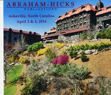 Abraham-Hicks Esther 6 CD Asheville, NC April 2 & 3, 2016 - NEW