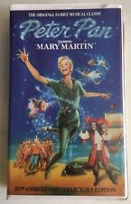 Peter Pan Family Musical VHS Starring Mary Martin 30th Anniversary Edition