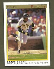 1991 OPC O-PEE-CHEE PREMIER #12 BARRY BONDS PITTSBURGH PIRATES NM/MT