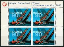SWITZERLAND - SVIZZERA - 2003 - Vittoria di Alinghi all'America's Cup 2003